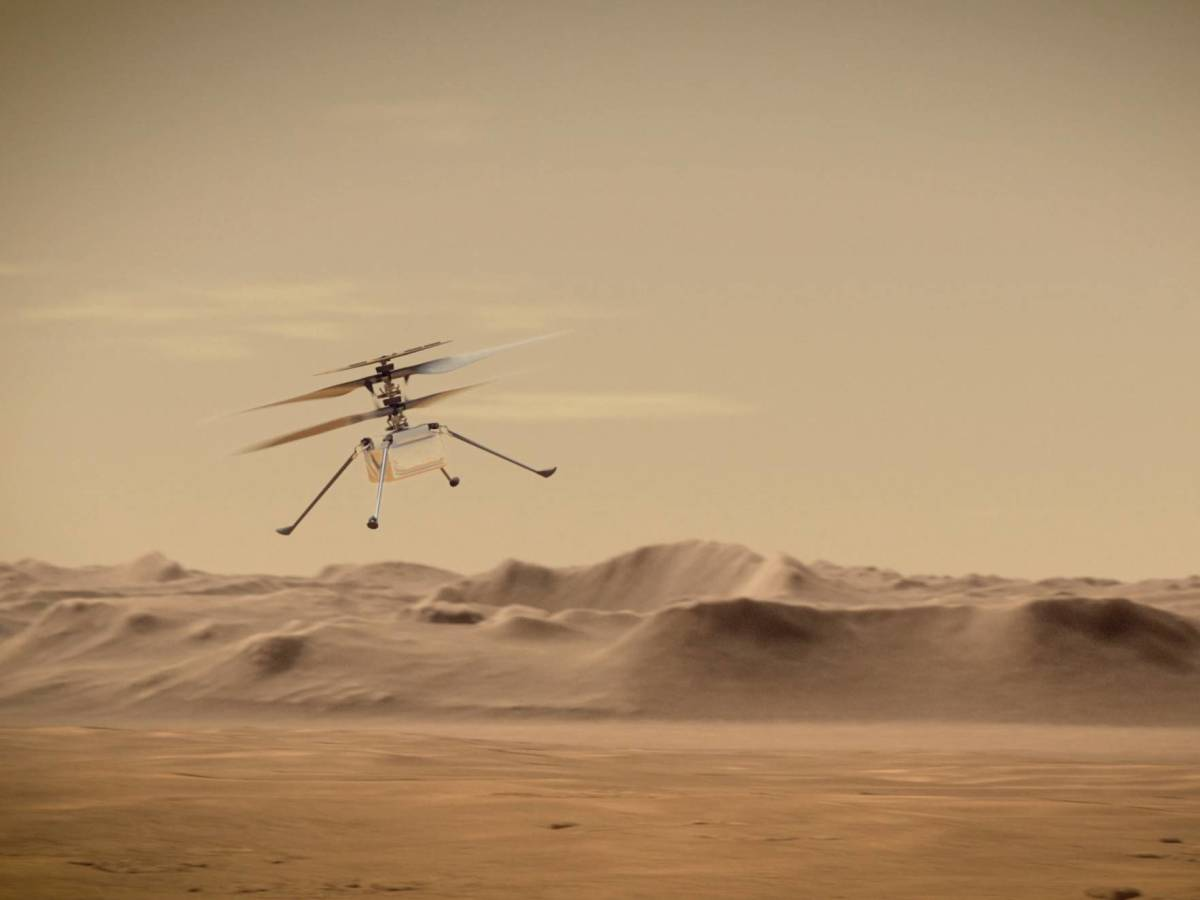 NASA approved the expansion of Ingenuity's flights, which are doing an excellent job on Mars.