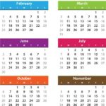 What year is it according to the different calendars?