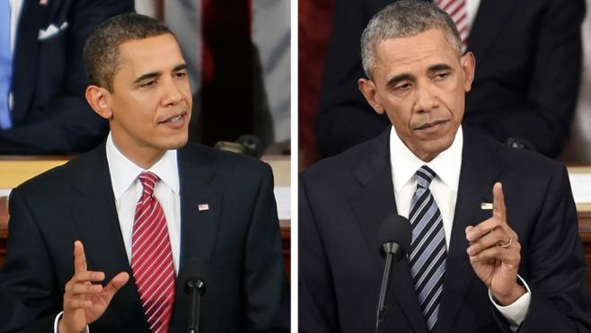 Many presidents turn gray quickly in this stressful situation.