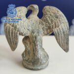 Roman Legion eagle recovered by police