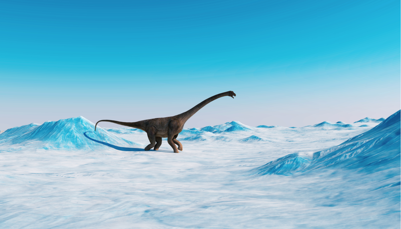 The dinosaur nursery in the Arctic proves that they lived there all their lives.