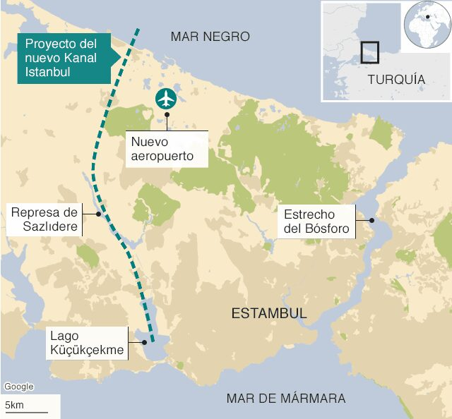 The canal that would make Istanbul an island is a heavily contested mega-project.