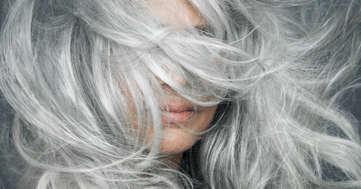 The relationship between gray hair and stress, revealed.