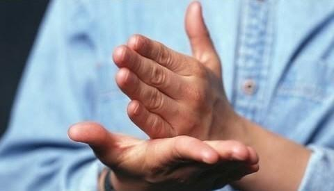 Why do we move our hands when we speak?  It's not just about explaining better to others.