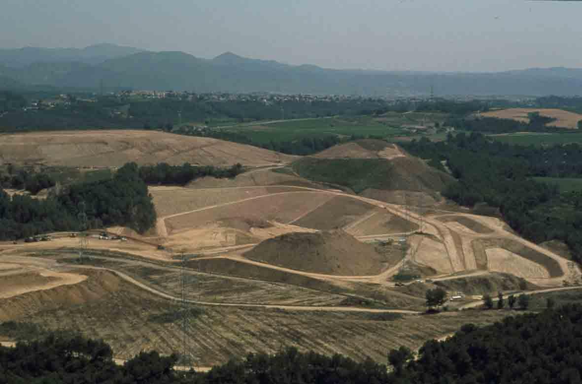 Catalonia landfill
