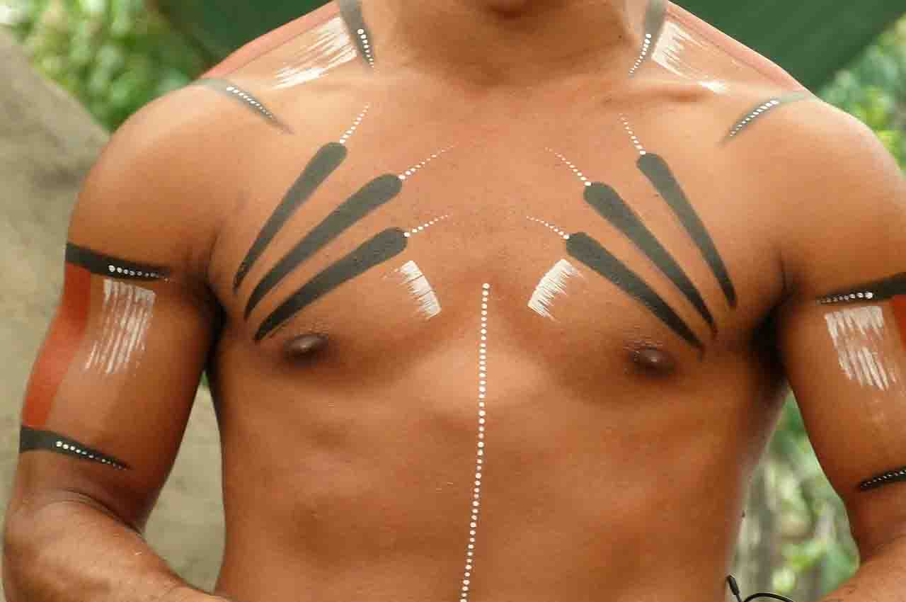 Tattoo instruments for tattooing on tribes