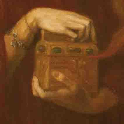 Pandora's box was made of gold