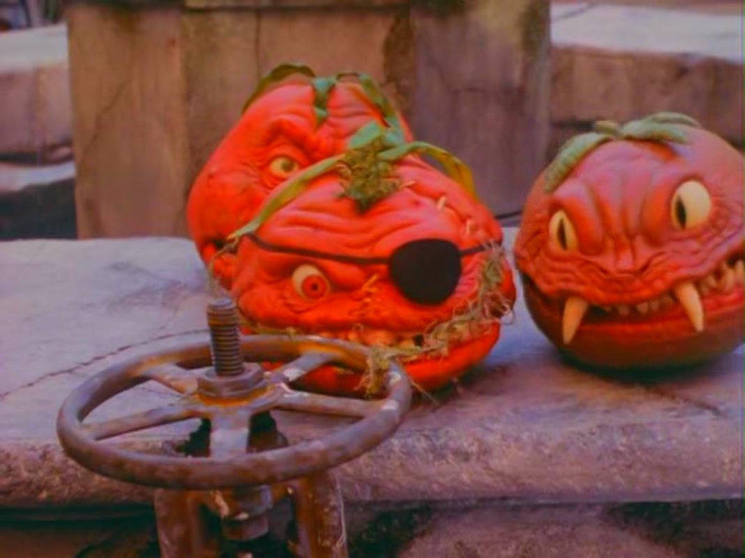 Wait, wasn't there a movie that talked about aggressive tomatoes?