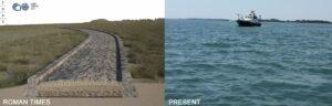 Una calzada romana en la laguna de Venecia indica que en aquel lugar pudo existir un asentamiento.