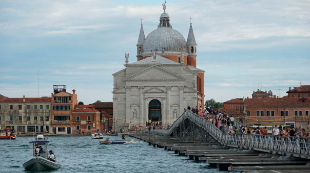 Venice was different at a different time.  At first it was less submerged.