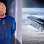 Richard Branson's flight into space