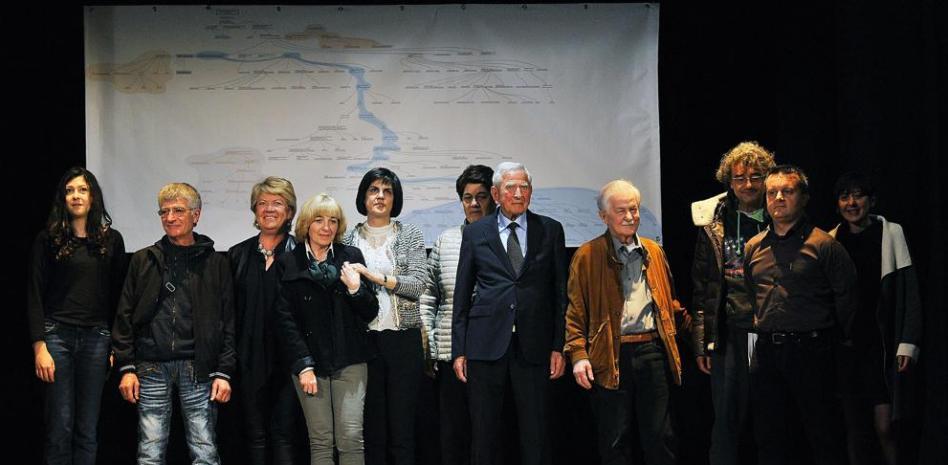 These are some of the living descendants of Da Vinci.