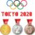 Tokyo Olympic Medals are 100% recycled