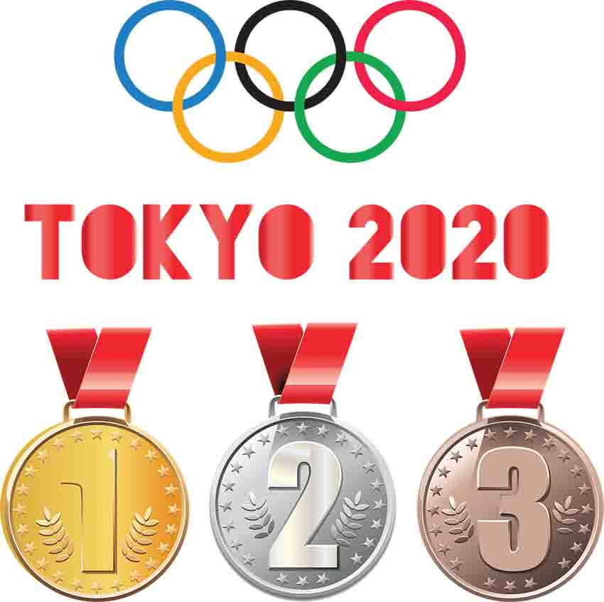 Olympic medals in Tokyo