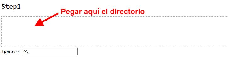 Upload directory folder