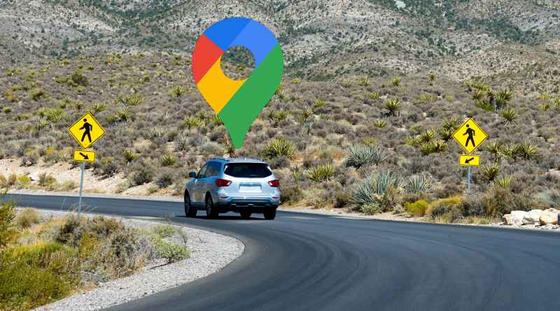 Google Maps customize route